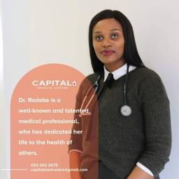 Photo of Dr. Velile Khulekani Celiwe Radebe